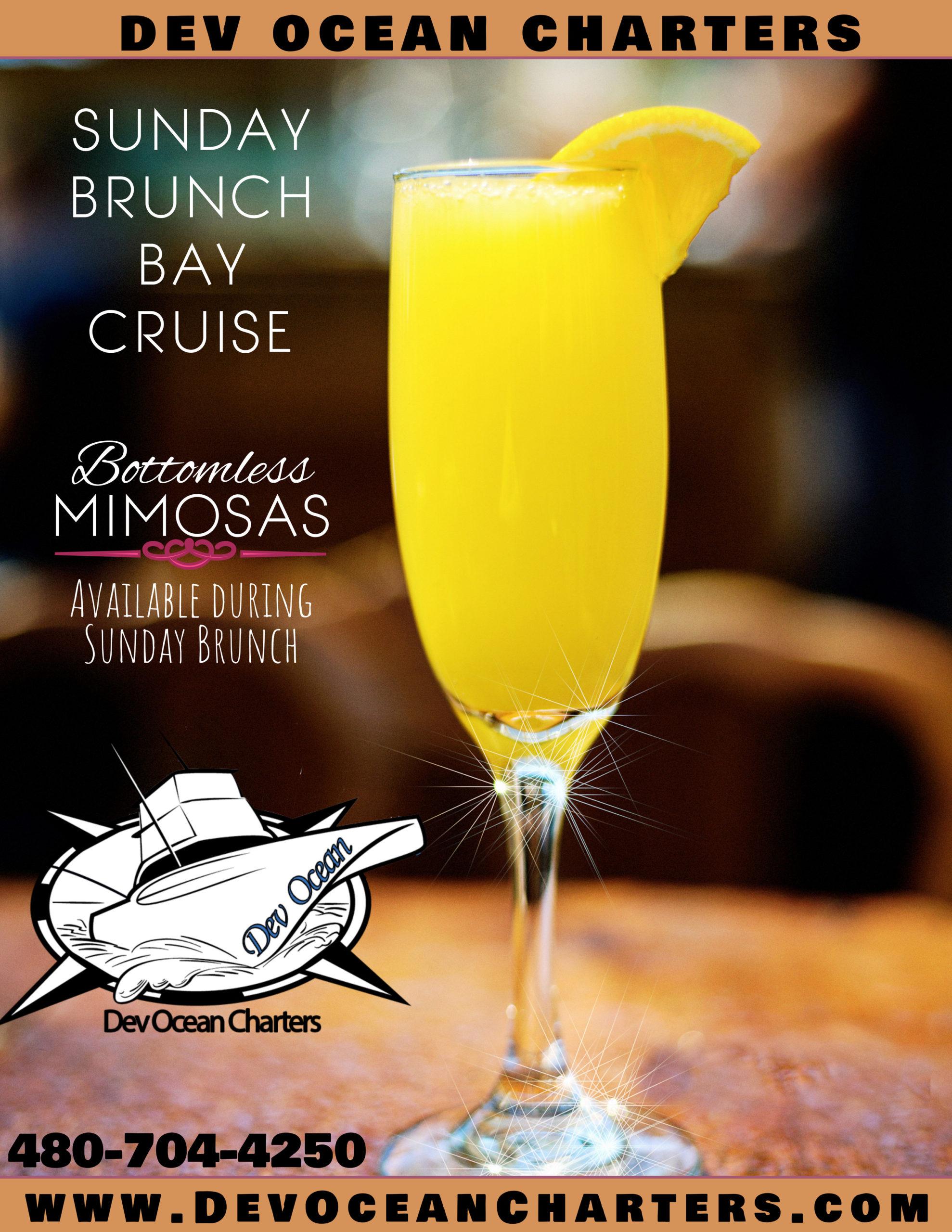 Copy of Bottomless Mimosas Sunday Brunch Flyer (1)