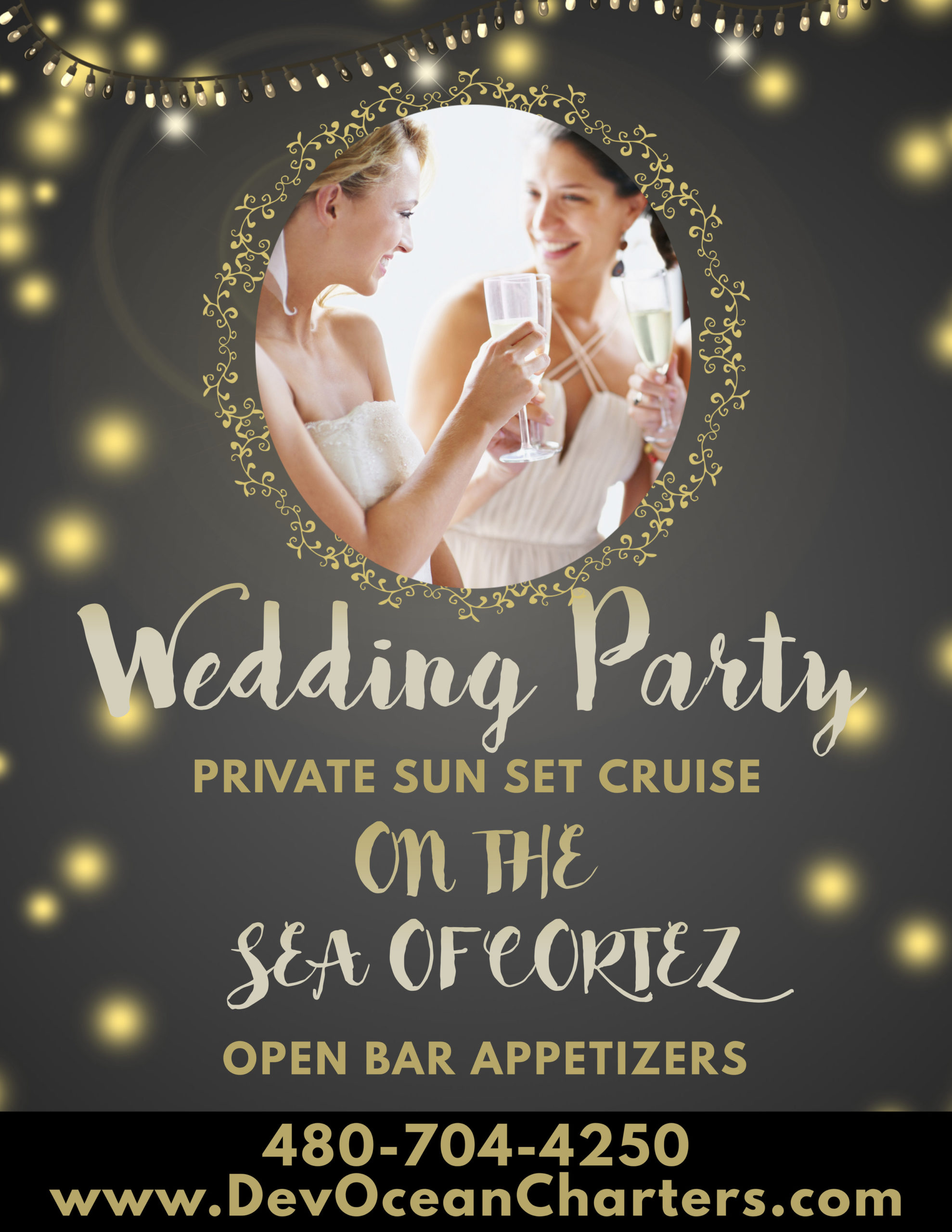 Copy of Copy of Engagement Party Flyer Template